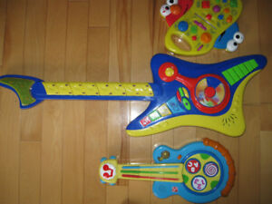 Musical push-button instruments & Toy