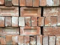 Reclaimed Century old red clay bricks