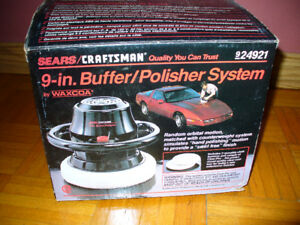 Sears Craftsman 9 Inch Buffer Polisher in Box