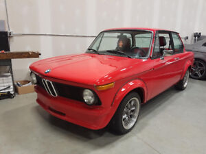 1976 BMW 2002, exc. cond. restored, turbo look