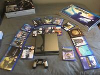 PS4 500gb Arkham Knight special edition +18 games £400