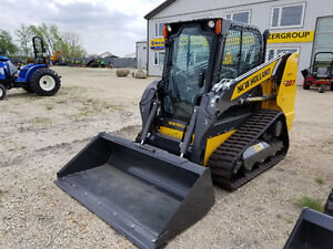 C227 Track machine skidsteer