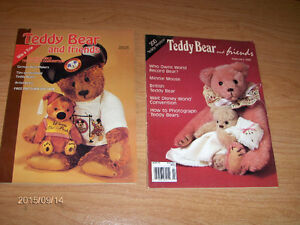 TEDDY BEAR & FRIENDS-2 BACK ISSUES-1988/1990-DISNEY-GERMAN+