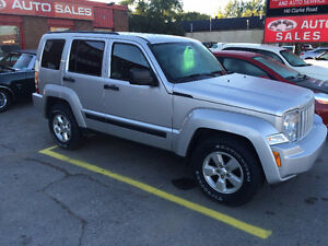 2012 JEEP LIBERTY SPORT TRAIL RATED ONLY 84K HARD TO FIND