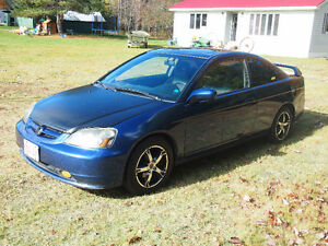 2001 Honda Civic Si-G Coupe (2 door)