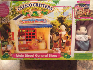 NEW Calico Critters Main Street General Store RARE & RETIRED