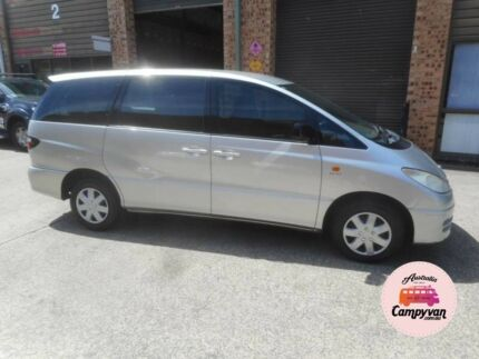 2004 Toyota Tarago Rego Perfect for backpackers