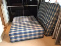 Double Bed With Matching Mattress Good Quality / Condition