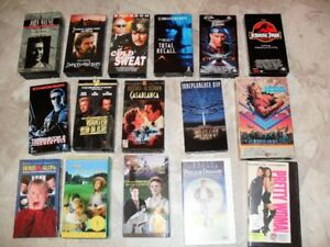 VHS Children' and various movies $2.00 each