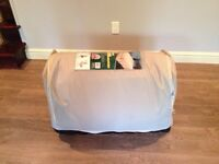 Woods Queen Size Bring Your Own Bed with memory foam