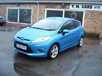 2012 Ford Fiesta 1.6TDCi Zetec S 3 door ** £20 Tax / New MOT **