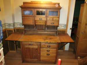RARE MASON CAMPBELL HOOSIER CABINET CUPBOARD WITH WINGS