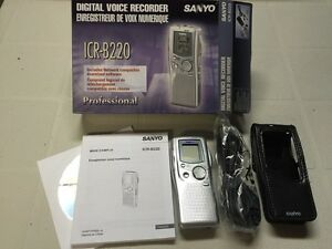 Sanyo - Professional Digital Voice Recorder