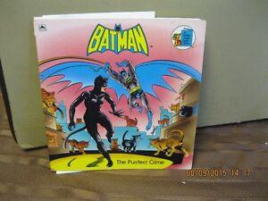 BATMAN     THE   PURRECT  CRIME   BOOK Oakville / Halton Region Toronto (GTA) image 1