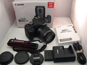 Canon T7 with 18-55mm Lens