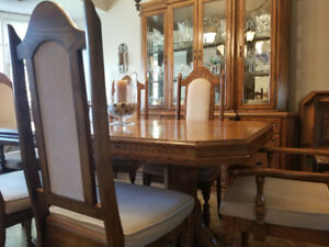 Dining Room Set with China Cabinet - Price Reduced