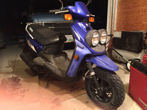 Yamaha 49 mL scooter for sale