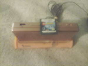 NINTENDO DS AND CHARGING STAND AND DS GAME(NEW PRICE)