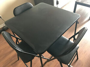 "Dining Table with 4 chairs - ""Moving Sale"""