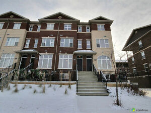 Three story brownstone style townhouse is move in ready!!