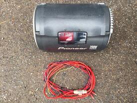PIONEER TS-WX20LPA Subwoofer - cost new £346 bargain £80