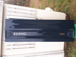 Near mint GMC tail gate