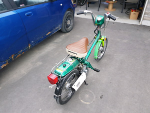 Honda express gas scooter