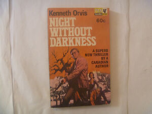 NIGHT WITHOUT DARKNESS by Kenneth Orvis - 1965 Paperback