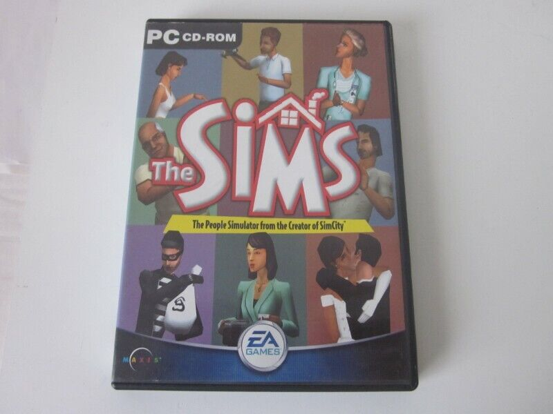 THE SIMS 1 Base Game ORIGINAL RELEASE - PC CD ROM
