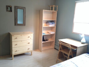 Furnished Room in clean quiet suite in CANMORE, May 1 Fully furn