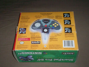 BOXED NINTENDO 64 SHARKPAD PRO CONTROLLER TESTED GREAT SHAPE West Island Greater Montréal image 3