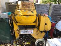 Large Benford Petrol Cement Mixer