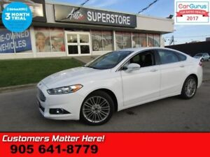 2016 Ford Fusion SE  AWD LEATHER ROOF CAMERA 10 WAY SEAT HEATED