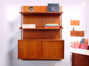 Vintage 60's Floating Display Wall System
