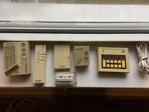 Various home security/Alarm parts