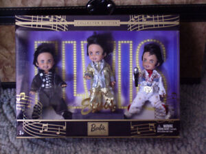 2003 TOMMY AS ELVIS DOLL SET OF 3