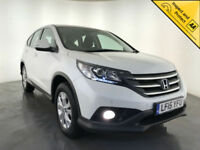 2015 HONDA CR-V SE I-DTEC ESTATE DIESEL 1 OWNER SERVICE HISTORY PARKING SENSORS