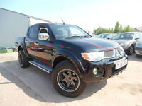 MISTUBISHI L200 2.5 DIESEL ANIMAL DOUBLE CAB 4X4 FULL SERVICE HISTORY