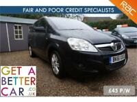 VAUXHALL ZAFIRA 1.7 CDTI ELITE - 61 REG - 55K - £45 PW - FAIR & BAD CREDIT FINAN