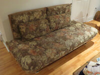 Moving - Must Sell Futon Couch and Chair