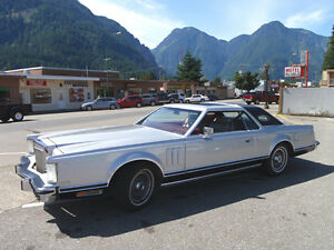 1978 Lincoln Continental Mark V Coupe 2-doors Pucci Edition (Ra