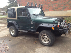 2000 Jeep TJ Coupe (2 door)