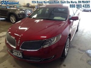 2013 Lincoln MKS Base  - Leather Seats -  Cooled Seats -  Blueto