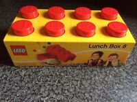 New In Packaging Lego Lunch Box