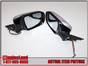JDM SUBARU LEGACY BL5 POWER FOLDING MIRRORS LEFT AND RIGHT