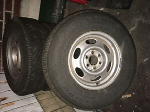 Nordic winter tires 235-75-R15