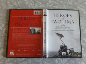 WWII, Vietnam and Korean War DVDs for sale $5.00 each