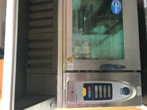 Rational combi oven comes with ventless hood system for sale!!