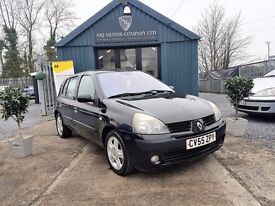 Renault Clio 1.2 16V DYNAMIQUE (black) 2005
