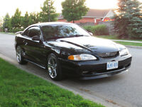 1997 Ford Mustang GT Coupe (2 door) Only 73,500kms!!!